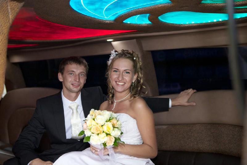 Машина на свадьбу в СПб