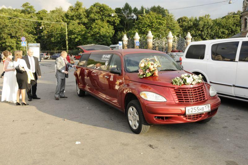 снять машину на свадьбу