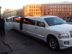 Заказ лимузина на свадьбу недорого